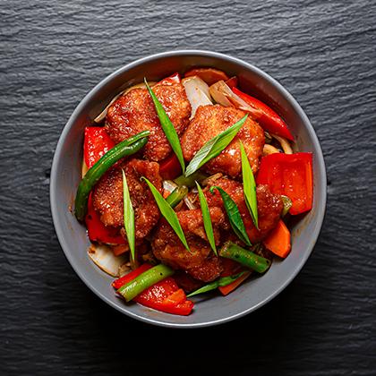 Свинина в Сычуаньском соусе